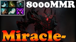 Dota 2 - Miracle- 8000MMR Plays Shadow Fiend vol 12 - Ranked Match Gameplay