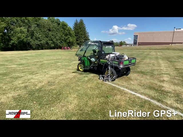 LineRider GPS+ Striping a Circle