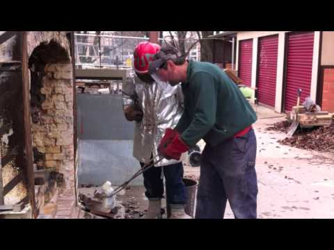 Bronze Casting: The Luted Crucible Method at Kansas City Art Institute 2014