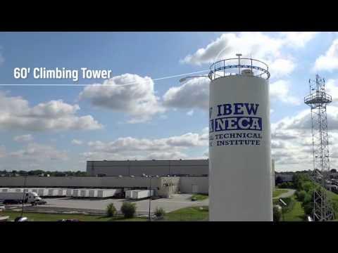 IBEW NECA Technical Institute's Renewable Energy Training Field