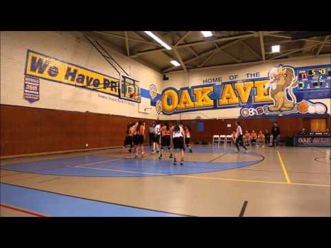 2015-16 SPMS 8th grade girls basketball - Game 8 @ Oak MS