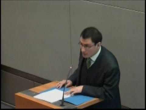 Angel Horna - ITLOS Training Programme Dispute Settlement
