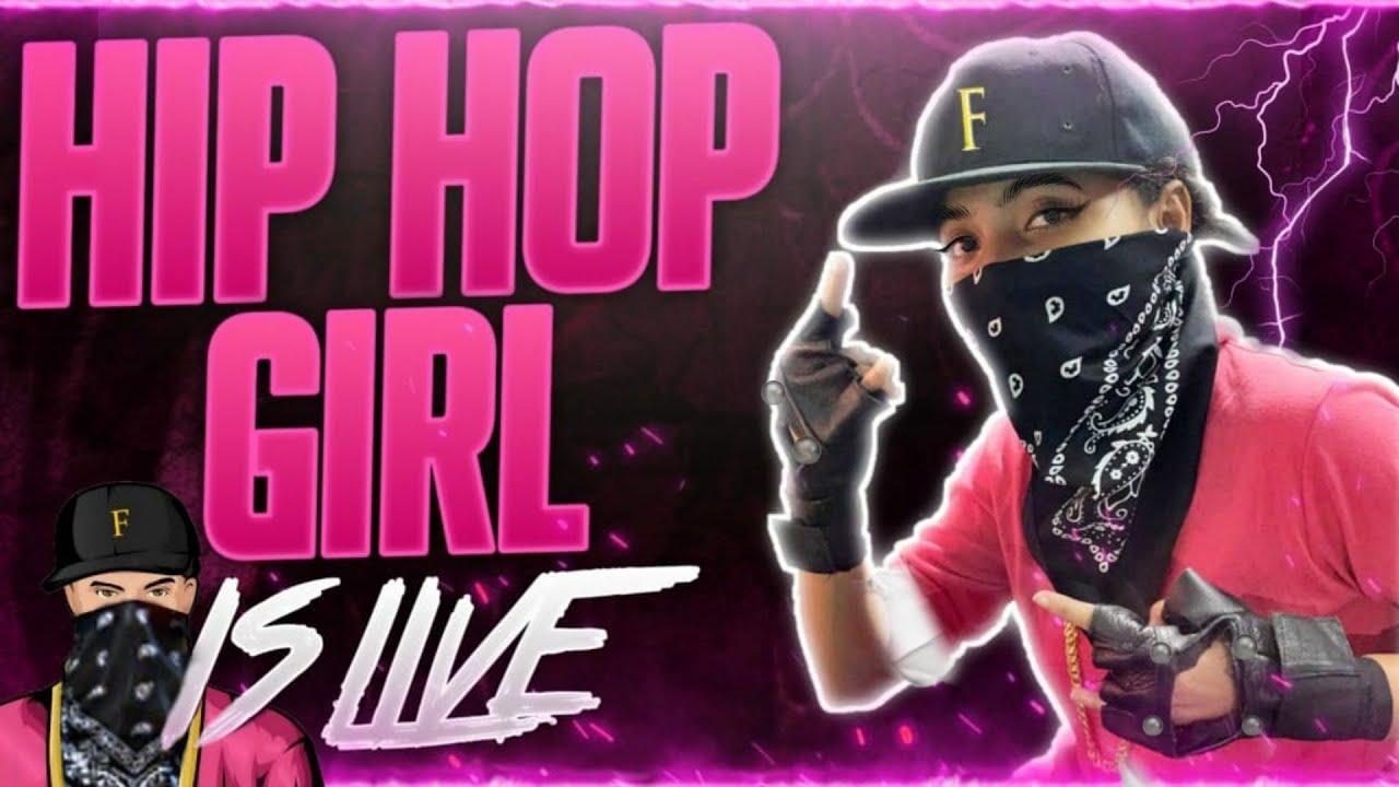 Free Fire Live - LOL Hip Hop Girl's AWM Gameplay | Garena Free Fire