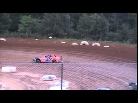 Crowley's Ridge Raceway 6/21/14 #21 Chris Sims Street Stock Heat Race