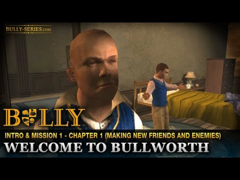 Welcome to Bullworth - Intro & Mission #1 - Bully: Scholarship Edition