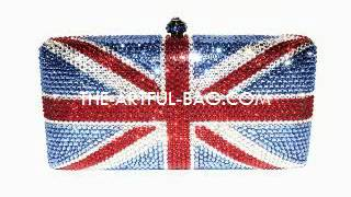 The Windsor 2012 Crystal Union Jack Clutch from the-artful-bag.com LIMITED EDITION