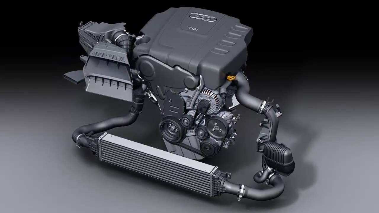 Audi 2007 2 0l R4 Tdi Motor Youtube