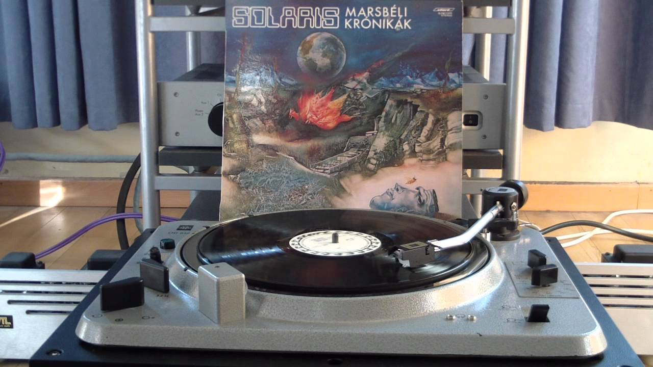 Solaris - Marsbéli Krónikák - Martian Chronicles - Live