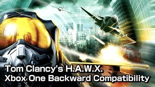 #01 Tom Clancy's H.A.W.X. Xbox One Backward Compatibility