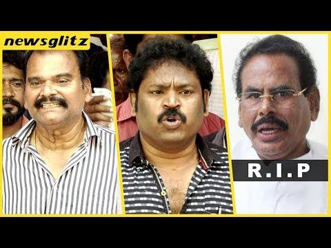 Last Tribute to Sasikala's Husband Natarajan Funeral : Bayilvan Ranganathan , V Gowthaman , V Ponraj