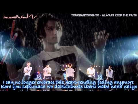 TVXQ Stand By U English+Romaji Subs