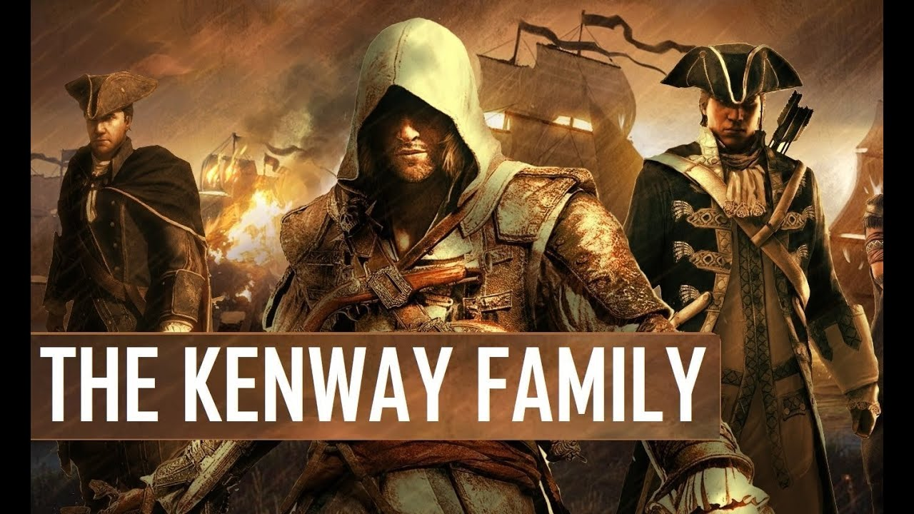 Download Assassin's Creed - The Kenway Family Saga