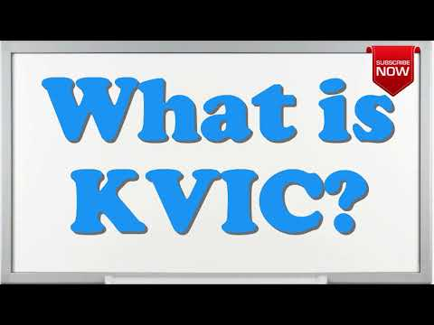 What is the full form of KVIC?