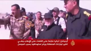 أردوغان: لن نسمح بأن تسبب معركة الموصل دماء ونارا