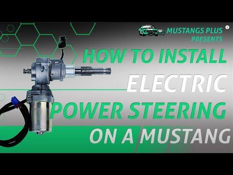 Mustang Electric Power Steering