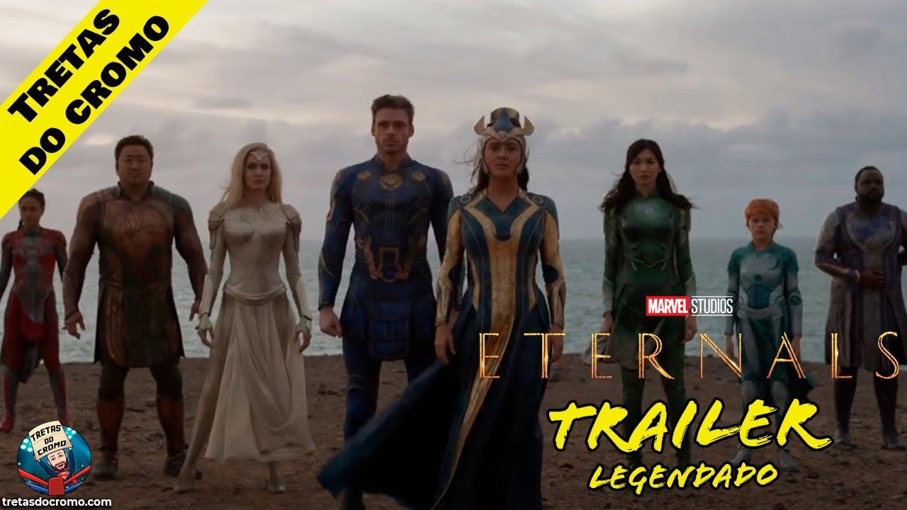 Eternals da Marvel Studios ganha novo trailer