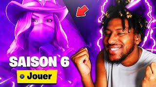 THE SKINS OF SAISON 6...LAMA DJ, COWGIRL! FORTNITE SEASON 6 TEASER (FUTURE THEME)