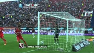 Gol de Montenegro. San Lorenzo 0 - Independiente 1. Fecha 12. Primera División 2014. FPT