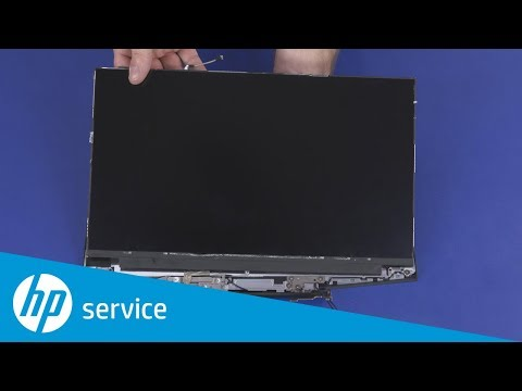 Replace the Display Panel | HP Gaming Pavilion 15t, 17t CTO Series | HP