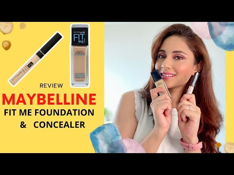 Makeup Product Review | MAYBELLINE FIT ME FOUNDATION & Concealer | Easy Makeup Tips