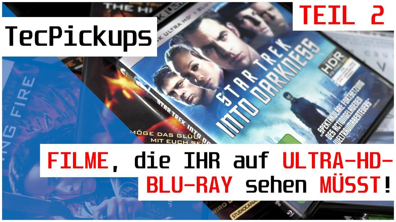 [TEIL 2] FILME, die IHR auf 4K ULTRA HD BLU-RAY sehen MÜSST! | TecPickups | 4K60p