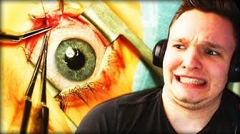 BLOß NICHT BLINZELN!! | Augenoperation
