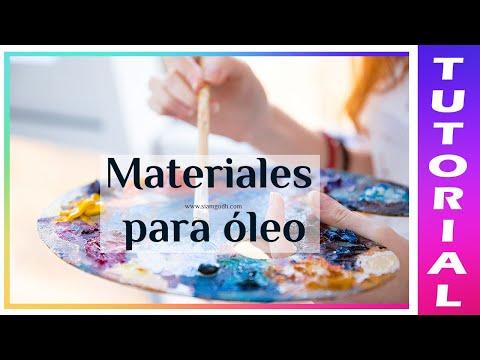 Guía de materiales para pintar en óleo 🎨 Todo lo que debes saber