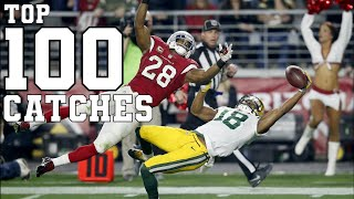 Top 100 Greatest Catches Of All Time | Football \u0026 Baseball Unbelievable Grabs