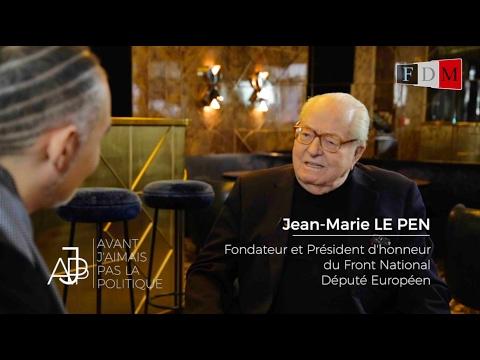 INEDIT : Jean-Marie Le Pen livre son 1er geste politique en 1944 - FDMTV #AJPP