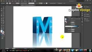 Repeat youtube video 3D Text Illustrator Tutorial Adobe Illustrator CS6