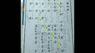 華藏衛視 ~ 爐香讚花鼓板㸃《講義》