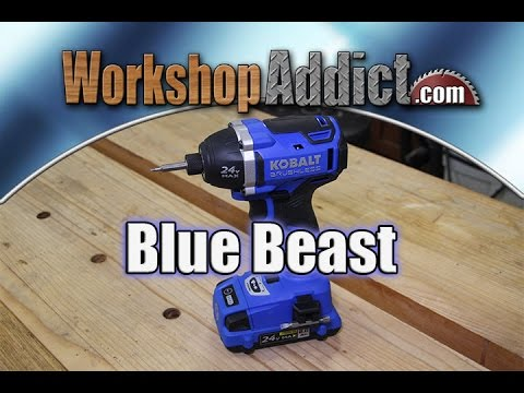 Kobalt Brushless 24volt Max Impact Driver Review