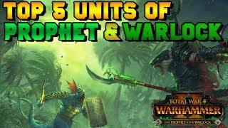 Top 5 BEST Units of new Prophet & Warlock DLC | Total War: Warhammer 2