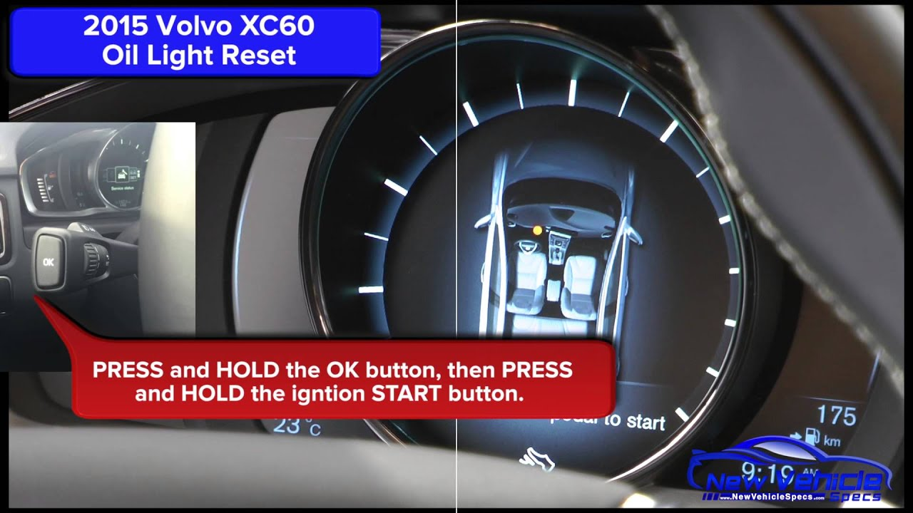 2015 Volvo Xc60 Oil Light Reset Service Light Reset