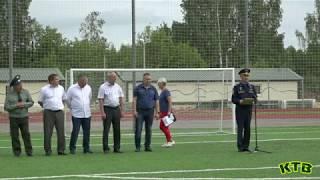 Открытие турнира по футболу 115 выпуск КТВ
