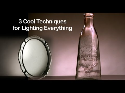 Tutorial on Cinematography - 3 Basic Techniques for Lighting Everything