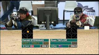 Finals 50 Rifle Prone Men - ISSF World Cup Series 2011, Combined Stage 2, Sydney (AUS)