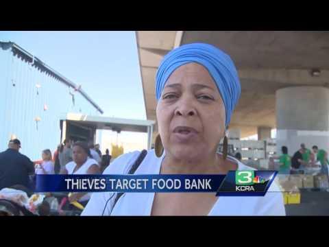Fridge wires stolen; Stockton food bank struggles to save food