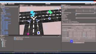 Unity3D - Road & نظام المرور - كيفية إنشاء تقاطع T