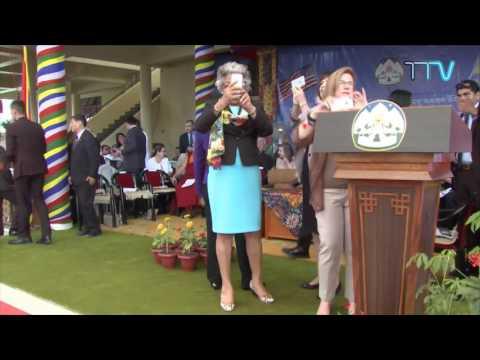 Leader Pelosi Takes Part in Public Felicitation Ceremony