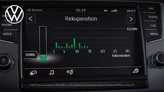 Інформація відображається в електронному Golf | Фольксваген