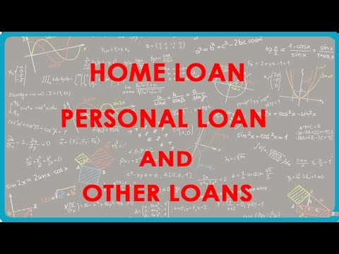 1167.  Home Loan, Personal Loan and other loans