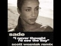 I Never Thought I D See The Day Sade