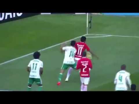 melhores momentos-internacional 0 x 1 Palmeiras pelo brasileirão 2016 (17/07/16)