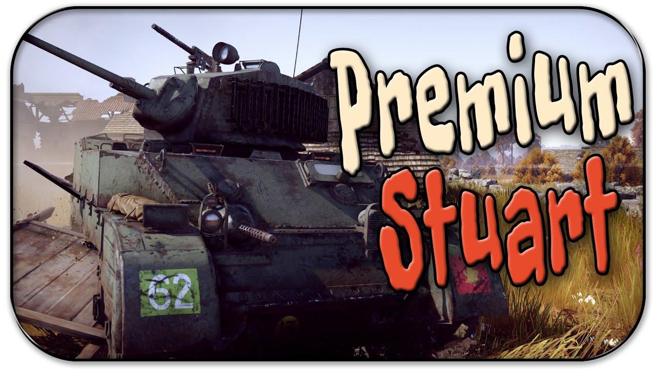 War Thunder M5a1