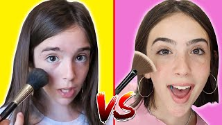 MAKEUP TUTORIAL - THEN vs NOW