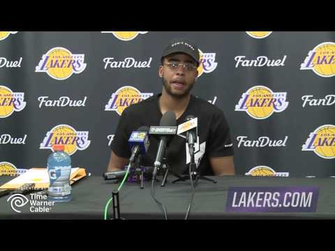 Lakers 2016 Exit Interview | D'Angelo Russell