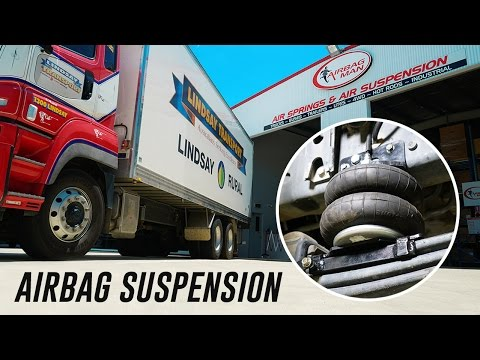 Truck Airbag Front Suspension Helper Kit