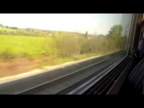 Trip-Report TGV Atlantique Le Mans Nantes en 2nde classe rame 312