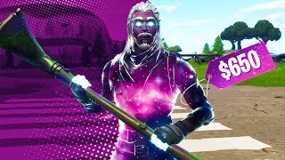 I paid $650 for the Fortnite Galaxy Skin..